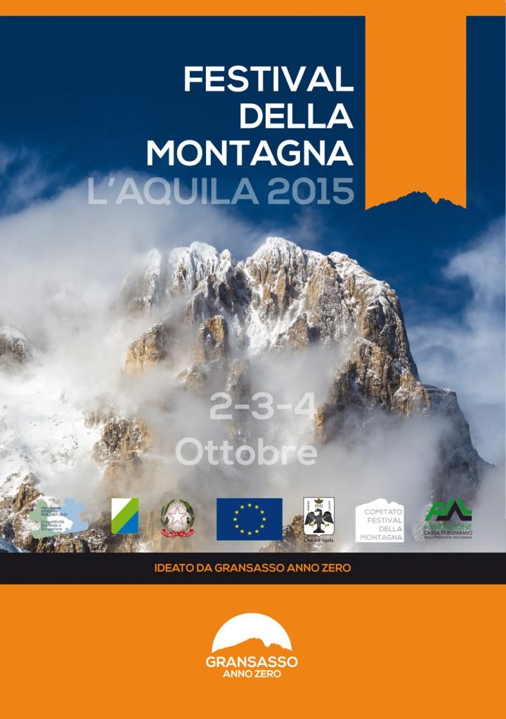 Copertina della brochure del Festival della Montagna