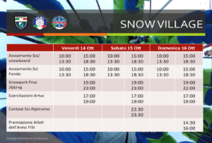 snow-village-orari